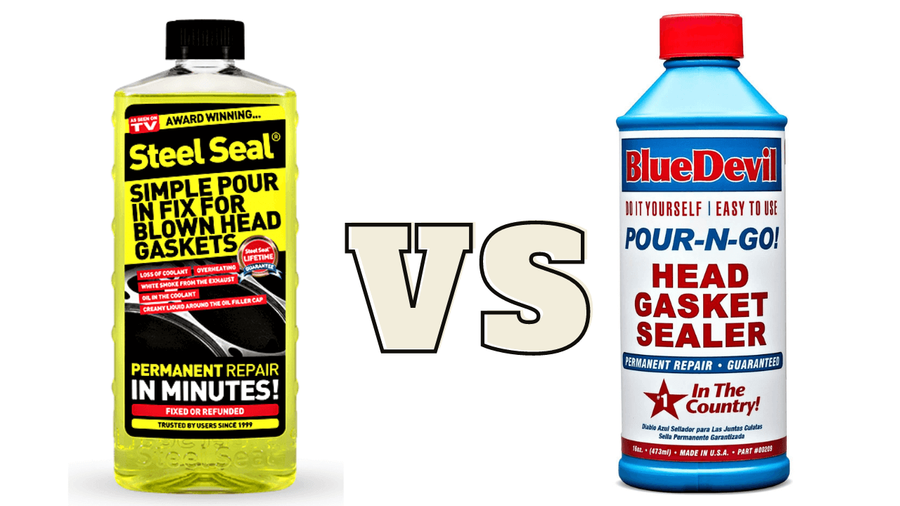 Compare Blue Devil Head Gasket Sealer VS Steel Seal Head Gasket Repair